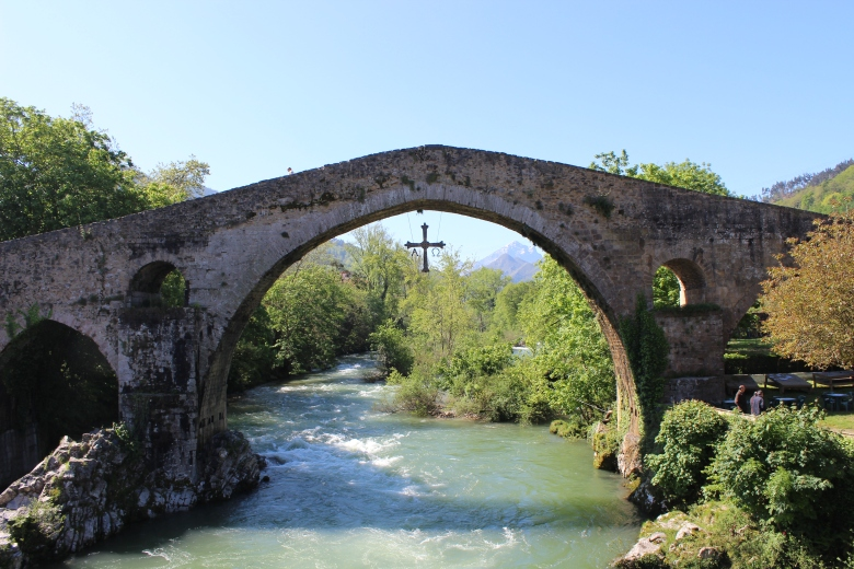 Cangas de Onís in Asturias, Spain. Click to read more about it.