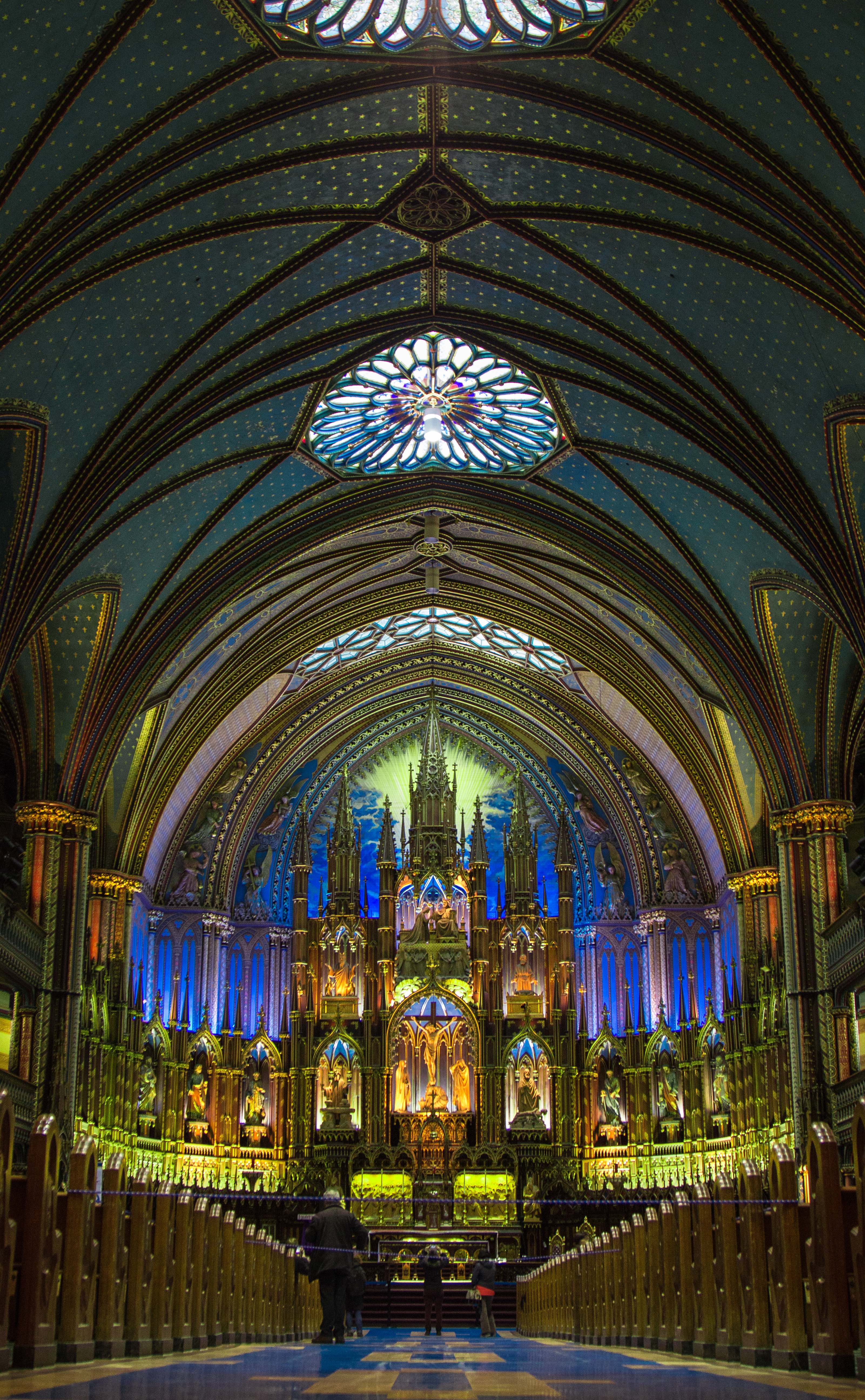 Montreal Canada Old City Notre Dame