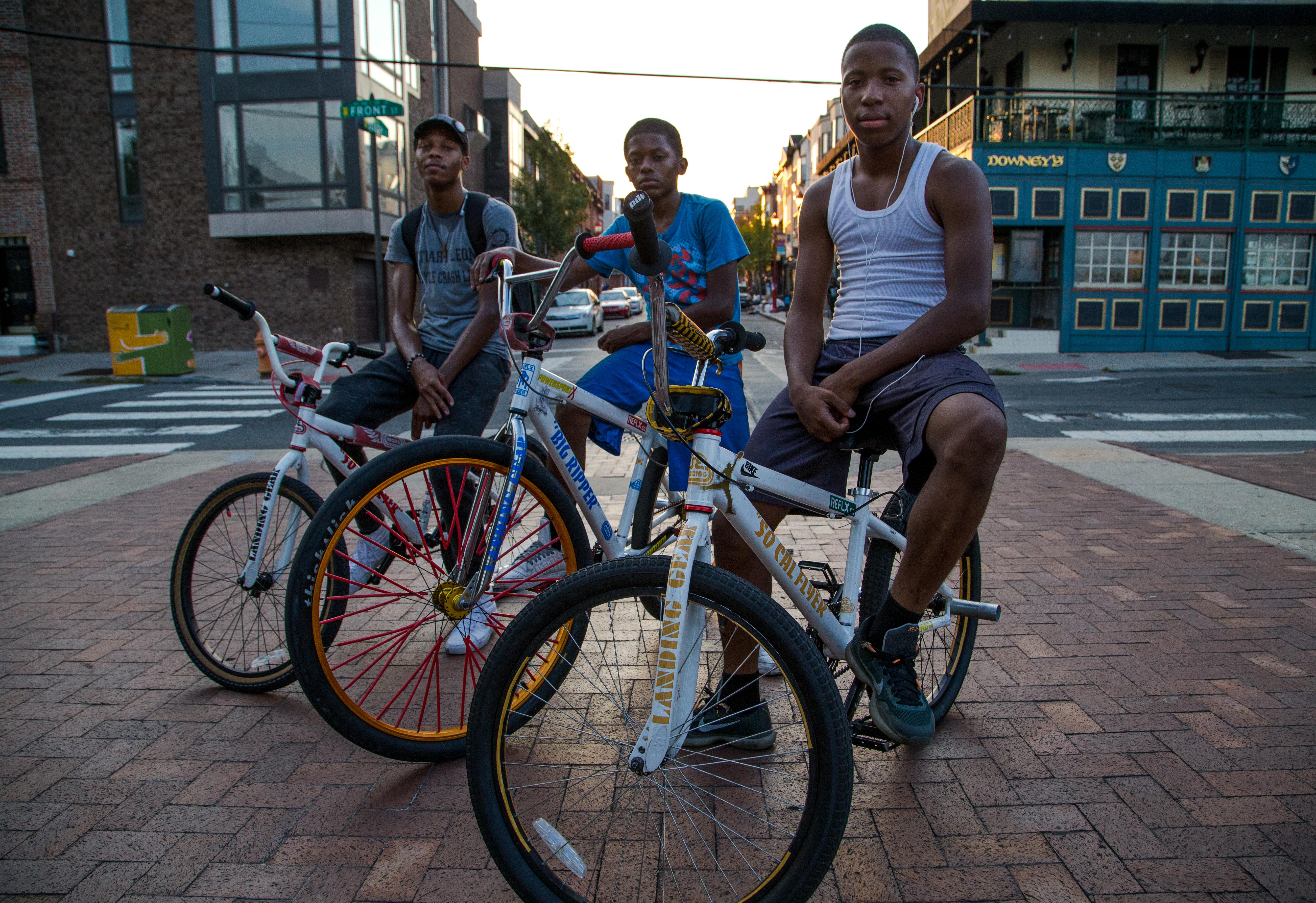 One Way wheelie kids